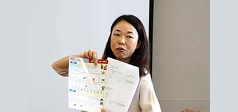 武蔵小山商店街様(セミナー:指さし会話の活用方法をレクチャー)