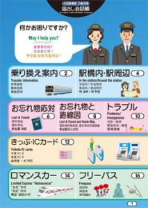 小田急電鉄株式会社様(接客指さし会話シート)